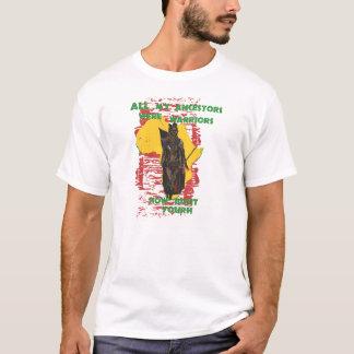 African Woman Warrior T-Shirt