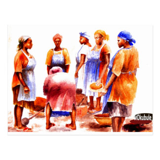 African Women  today  1 27 2012 Postcard