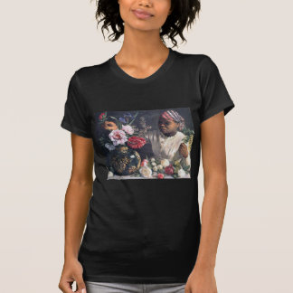 African Women with Peonies T-Shirt