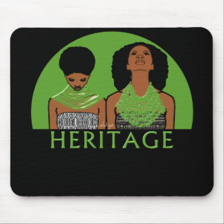 African Women With Tribal Necklaces Mouse Pad