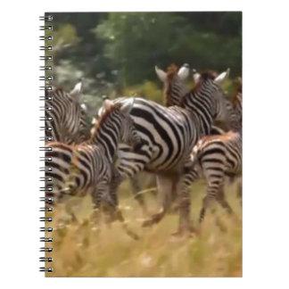 African Zebra cool stuff hakuna matata gift Note Books