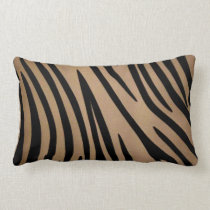 African Zebra Lumbar Pillow