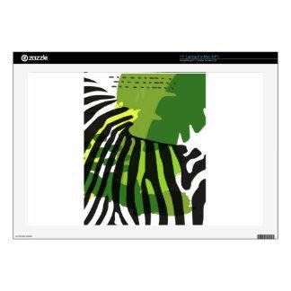 """African Zebra Skins For 17"""" Laptops"""
