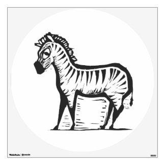 African Zebra Wall Sticker