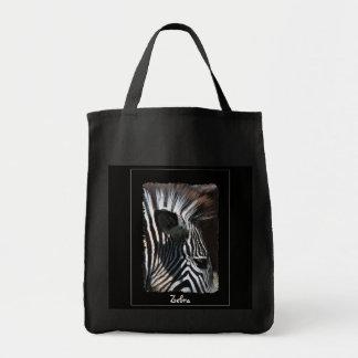African Zebra Wildlife Portrait Carry-Bag Tote Bag
