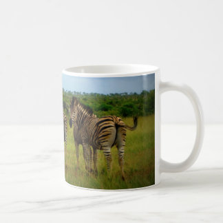 African Zebras in a Natural Setting Coffee Mug