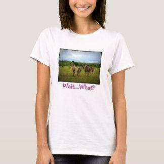 African Zebras in a Natural Setting T-Shirt