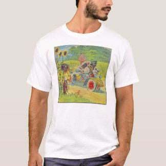 Africana Steampunk Car Tshirt