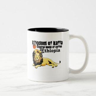 Africankoko Amhara Ethiopia Two-Tone Coffee Mug
