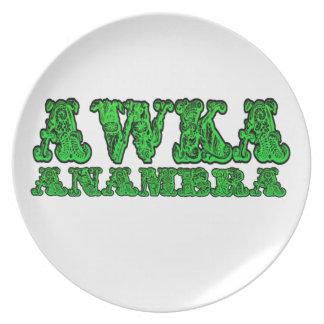 - Africankoko Awka de encargo (estado Nigeria de A Plato Para Fiesta