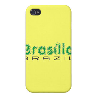 Africankoko Brasília de encargo, el Brasil iPhone 4/4S Carcasa