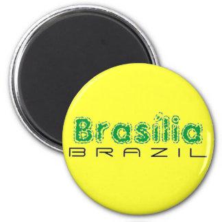 Africankoko Brasília de encargo, el Brasil Imán Redondo 5 Cm