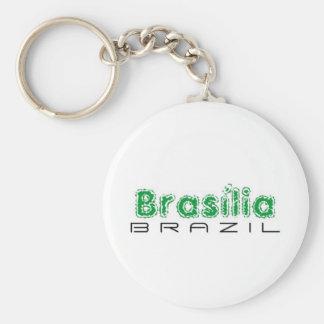 Africankoko Brasília de encargo, el Brasil Llavero Redondo Tipo Pin