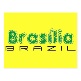 Africankoko Brasília de encargo, el Brasil Postales
