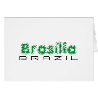 Africankoko Brasília de encargo, el Brasil Tarjeta De Felicitación
