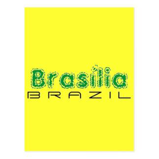 Africankoko Brasília de encargo, el Brasil Tarjeta Postal