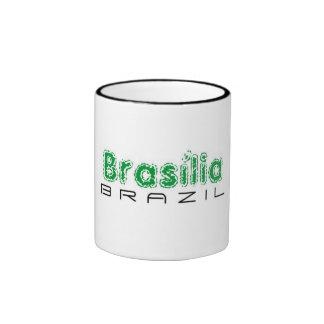 Africankoko Brasília de encargo, el Brasil Taza De Dos Colores