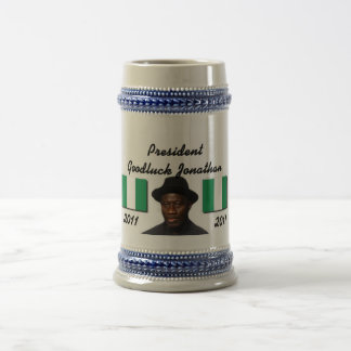 Africankoko Collection( Goodluck Jonathan ) Beer Stein