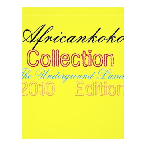 Africankoko Collection Letterhead