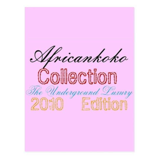 Africankoko Collection Postcard