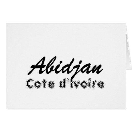Africankoko Custom  Abidjan, Cote d'Ivoire Card