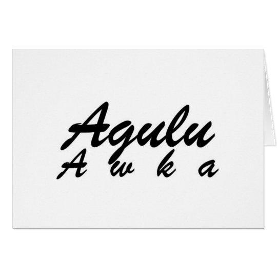 Africankoko Custom Agulu Awka, Anambra State Card