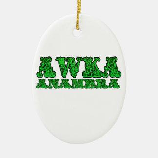-Africankoko Custom Awka ( Anambra state Nigeria) Ceramic Ornament