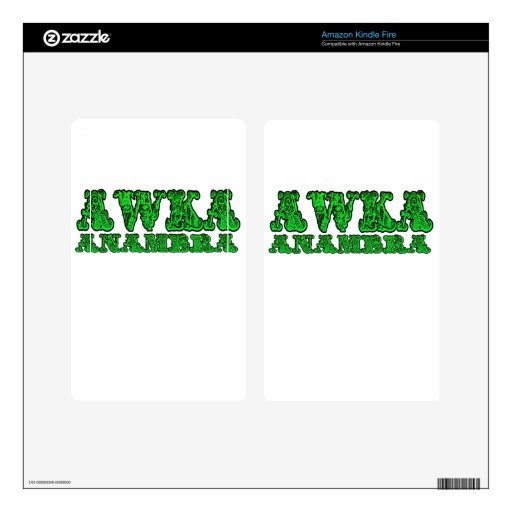 -Africankoko Custom Awka ( Anambra state Nigeria) Kindle Fire Decals