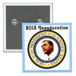 Africankoko Custom Barack Obama 2013 Inauguration Button