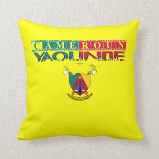 Africankoko Custom Cameroun Throw Pillow
