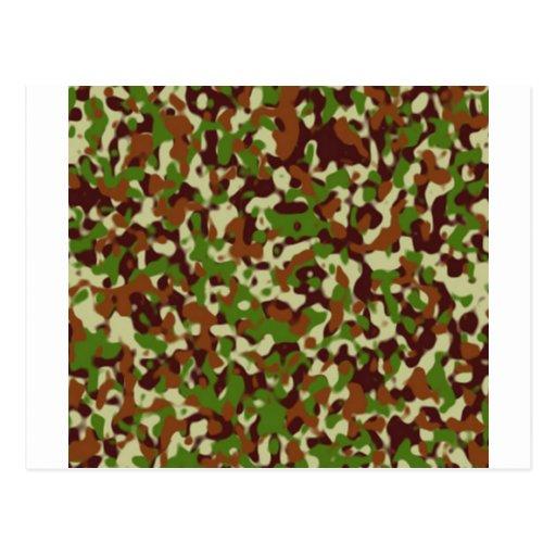 Africankoko custom camourflage postcard