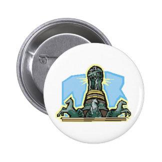 Africankoko Custom Collection 2 Inch Round Button