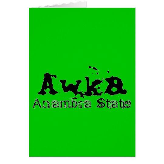Africankoko Custom Collection(Awka,Anambra State) Card