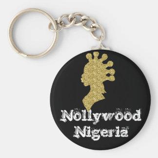 Africankoko Custom Collection Basic Round Button Keychain