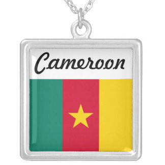 Africankoko Custom Collection(Cameroon) Silver Plated Necklace