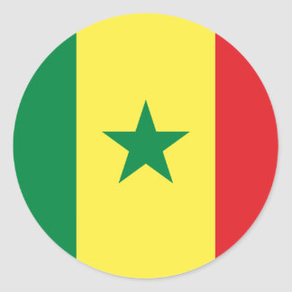 Africankoko  Custom Collection Classic Round Sticker