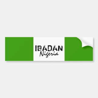 Africankoko Custom Collection(ibadan,Nigeria) Bumper Sticker