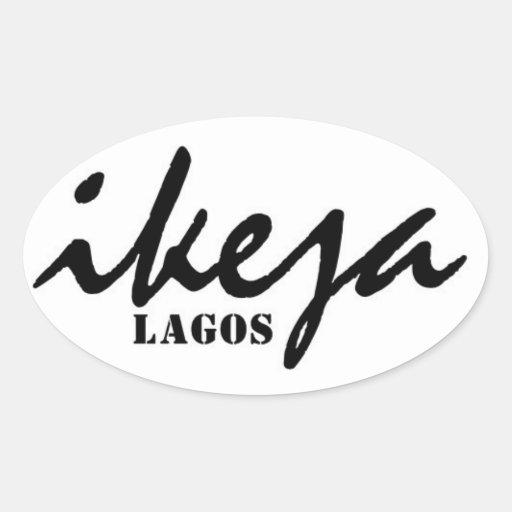 Africankoko Custom Collection(Ikeja, Lagos) Oval Sticker
