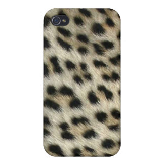 Africankoko Custom Collection (leopardskin, iPhone 4 Case