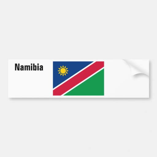 Africankoko Custom Collection(Namibia) Bumper Stickers