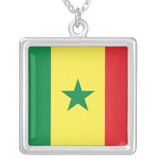 Africankoko Custom Collection Square Pendant Necklace