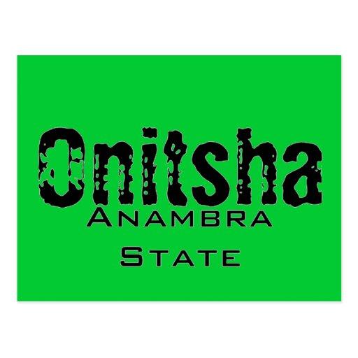 Africankoko Custom Collection(Onitsha, Nigeria) Postcard