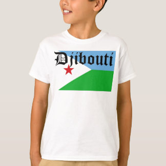 Africankoko Custom  Djibouti T-Shirt
