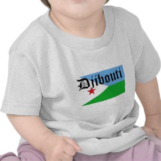 Africankoko Custom  Djibouti T-shirts