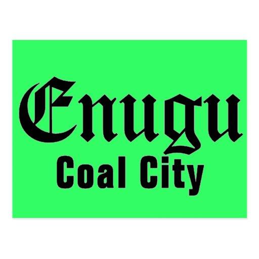 Africankoko Custom Enugu, Enugu State, Nigeria Post Card