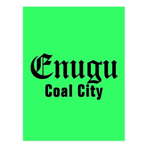 Africankoko Custom Enugu, Enugu State, Nigeria Postcard