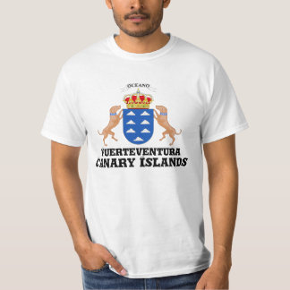 Africankoko Custom Fuerteventura, Canary Islands T-Shirt