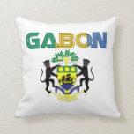 africankoko Custom Gabon throw pillow