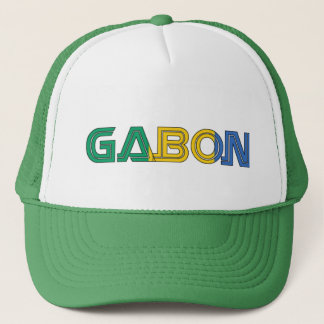 Africankoko Custom Gabon Trucker Hat