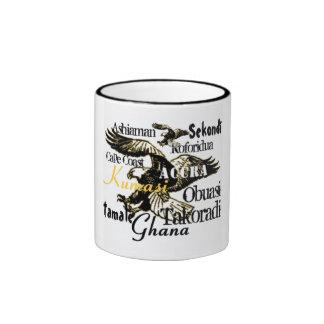Africankoko custom Ghana mug